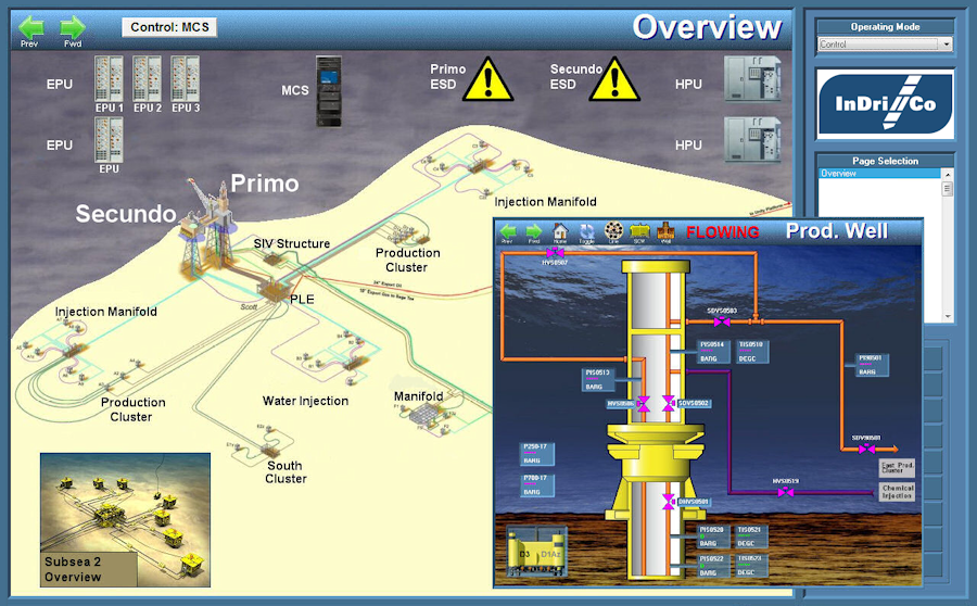 VTScada SubSea Oil And Gas